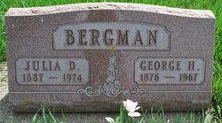 Julia D <i>Meyers</i> Bergman