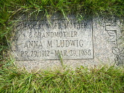 Anna M <i>Zimmer</i> Ludwig