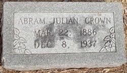 Abram Julian Crown, Sr
