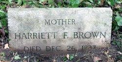 Harriett F. Brown