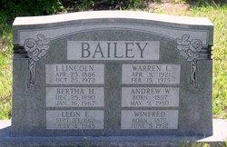 Warren Leslie Bailey