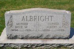 Albert A Albright