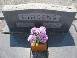 L C Giddens, Sr