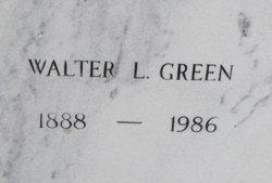 Walter L Green