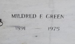 Mildred F Green
