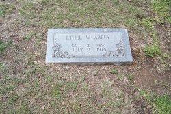 Ethel <i>Wells</i> Abbey