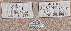 Josephine M Johnson