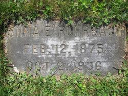 Anna E Rohrbach