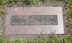 Martha A Armstrong