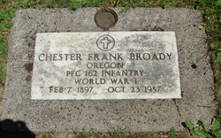 Chester Frank Broady
