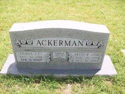 Zilpha Elizabeth <i>Skaggs</i> Ackerman