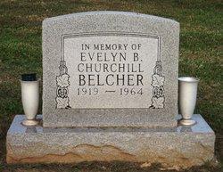 Evelyn C. <i>Churchill</i> Belcher