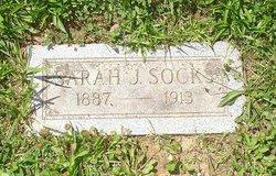 Sarah J <i>Butts</i> Socks