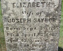 Elizabeth <i>Schreffler</i> Saylor