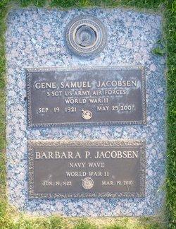 Barbara <i>Perkins</i> Jacobsen