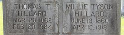 Millie <i>Tyson</i> Hillard