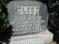 John Henry Lee