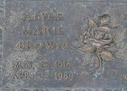 Alyce Marie <i>Lewis</i> Brown