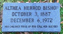 Althea <i>Herrod</i> Bishop