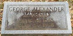 George Alexander Alec Mayfield