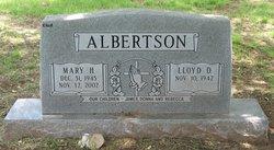 Mary Helen <i>McDaniel</i> Albertson