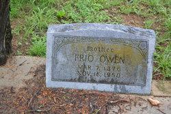 Hattie Frio <i>Burnett</i> Owen