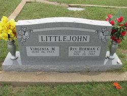 Virginia Maxine <i>Holmes</i> Littlejohn