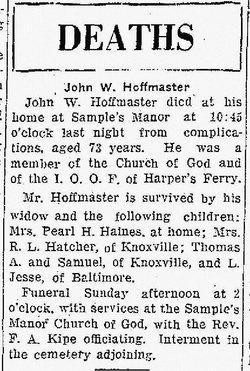 John W. Hoffmaster