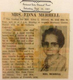 Edna Cornelia <i>Lovett</i> Merrell
