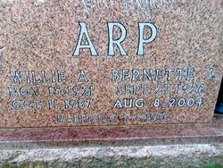 Bernette J. <i>Arp</i> Arp