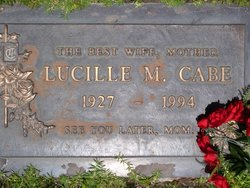 Lucille Marie <i>Skelly</i> Cabe