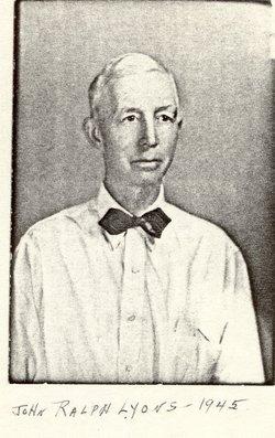 John Ralph Lyons