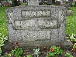 Mabel <i>Eakin</i> Lyons