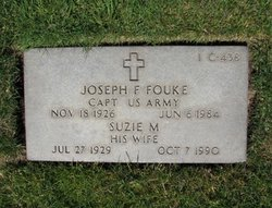 Capt Joseph F Fouke