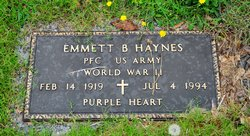 Emmett Bussy Haynes
