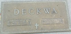 Russell Ernest Deckwa