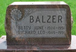 Betty June Balzer
