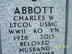 Col Charles Wilbur Abbott, Sr