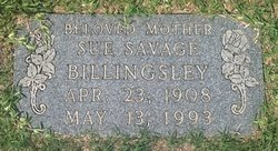 Sue <i>Savage</i> Billingsley