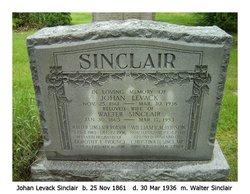 Johan <i>Levack</i> Sinclair