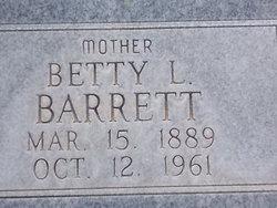 Bettie L Barrett