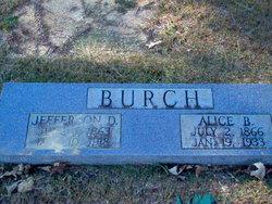 Alice Leon Medora <i>Blake</i> Burch