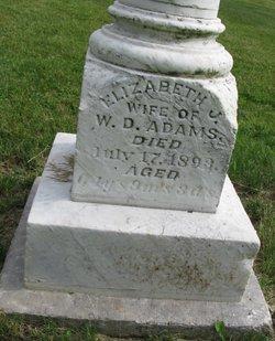 Elizabeth J <i>Timmons</i> Adams