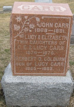 Herbert O. <i>Colburn</i> Carr