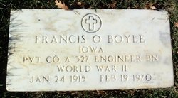 Francis Oliver Boyle