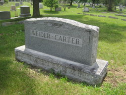 Florence P <i>Weider</i> Carter