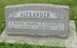 Martha Eileene <i>Willett</i> Alexander