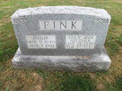Lucy Ann <i>Glick</i> Fink