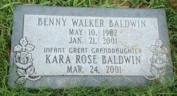 Bennie Walker Baldwin