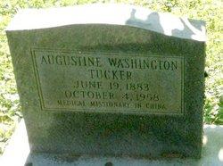 Dr Augustine Washington Tucker